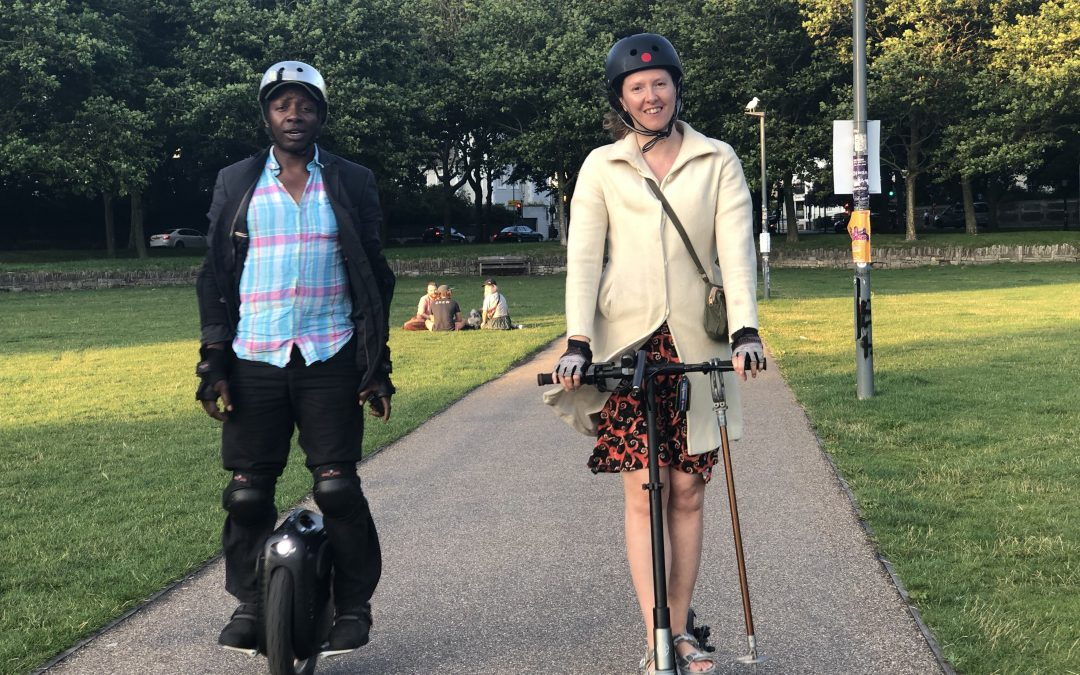 Electric Scooters Could Reduce City Journey Times