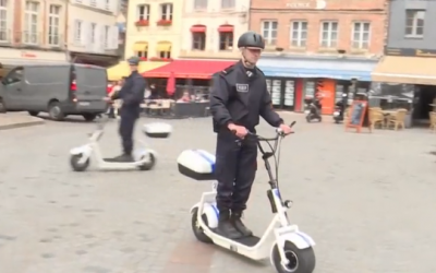 French Police Trial Electric Scooters