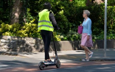 "Trips made by e-scooters ""no more likely to result in death than bicycle journeys"" new study concludes."