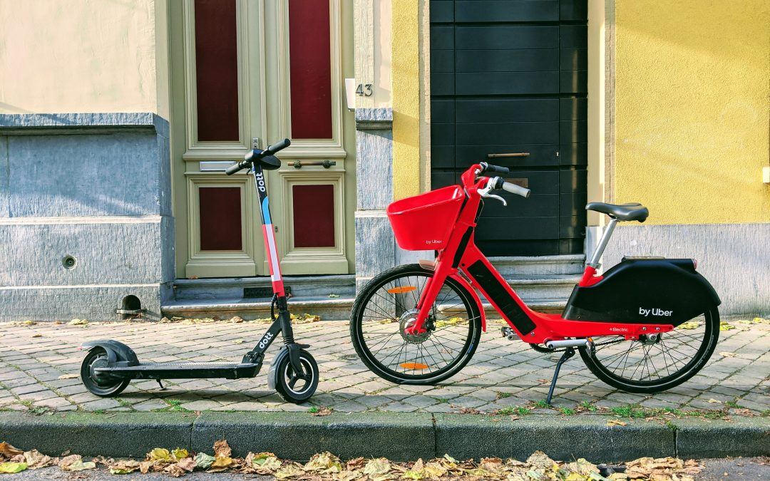 Comparing the safety of electric scooters with bicycles